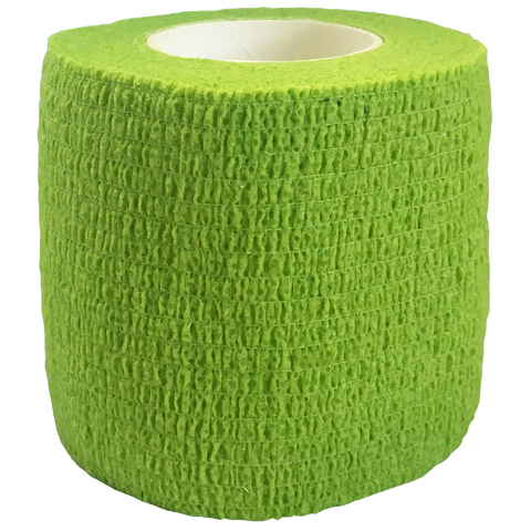 Elastic Cohesive Bandage (ECB), Size: 75mm x 45m, Colour: Green