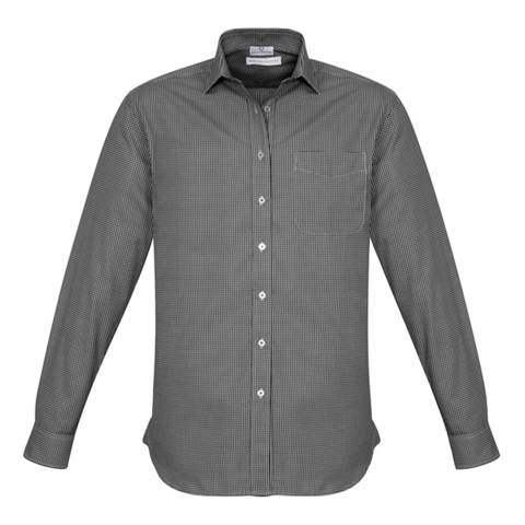 Mens Ellison Shirt, Colour: Black