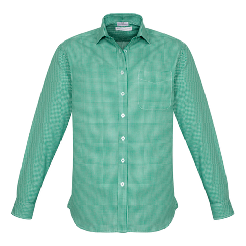 Mens Ellison Shirt, Colour: Dark Green