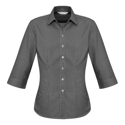 Womens Ellison Shirt, Colour: Black