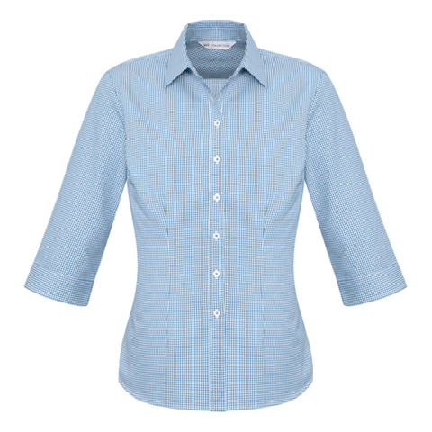 Womens Ellison Shirt - Colour Blue
