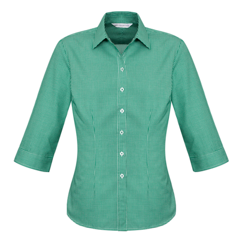 Womens Ellison Shirt, Colour: Dark Green