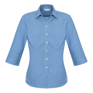 Womens Ellison Shirt, Colour: French Blue