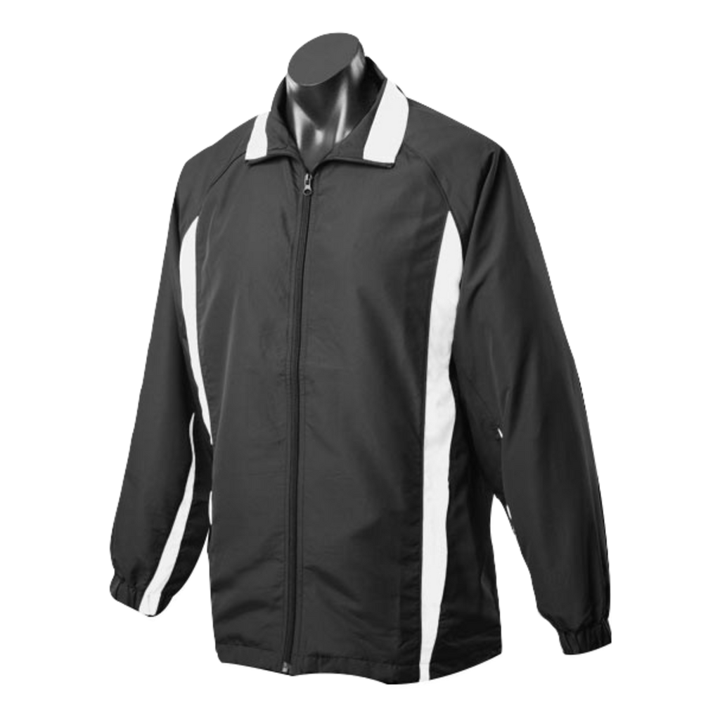 Kids Eureka Tracktop - Colours Black / White
