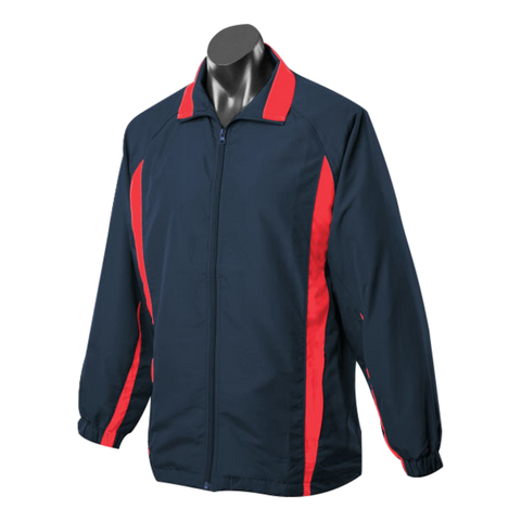 Image of Kids Eureka Tracktop - Colours Navy / Red