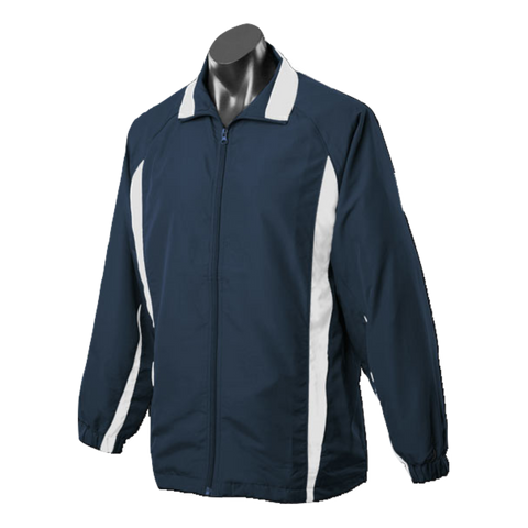 Image of Kids Eureka Tracktop - Colours Navy / White