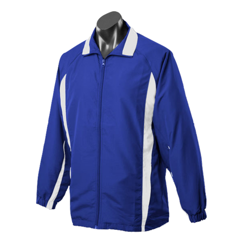 Image of Kids Eureka Tracktop - Colours Royal / White