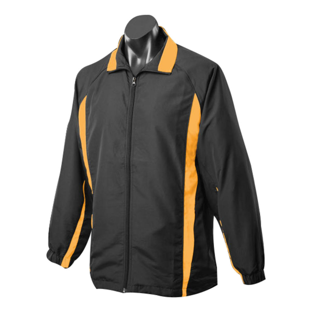 Adults Eureka Tracktop, Colours: Black / Gold