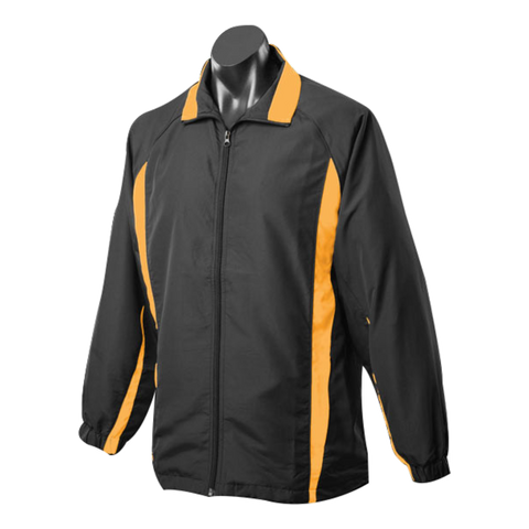 Image of Adults Eureka Tracktop, Colours: Black / Gold