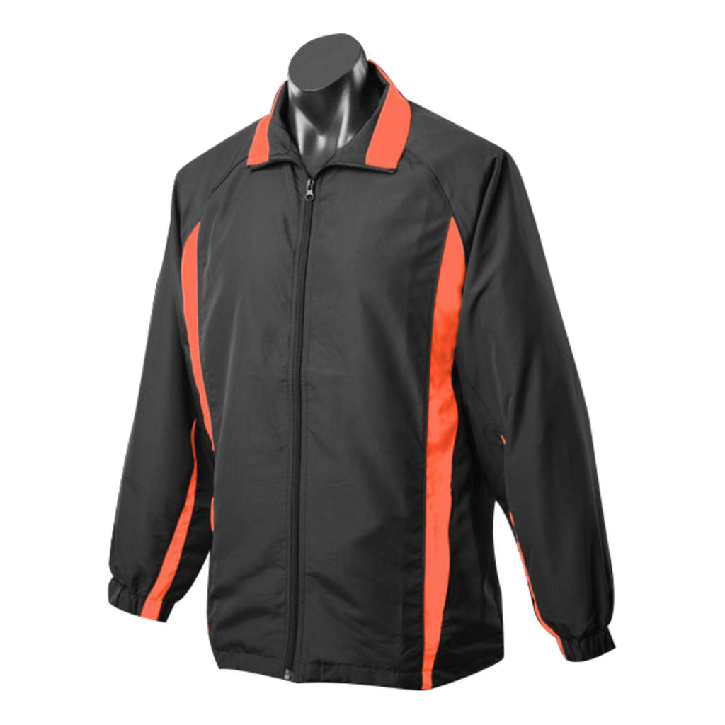 Adults Eureka Tracktop, Colours: Black / Orange