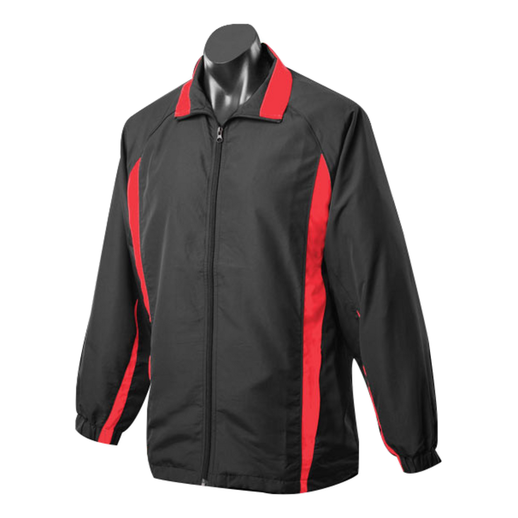 Adults Eureka Tracktop, Colours: Black / Red