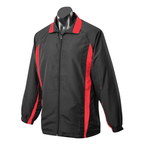 Image of Adults Eureka Tracktop, Colours: Black / Red