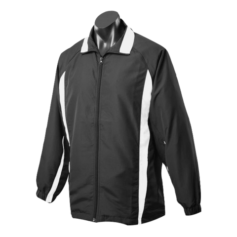 Image of Adults Eureka Tracktop - Colours Black / White