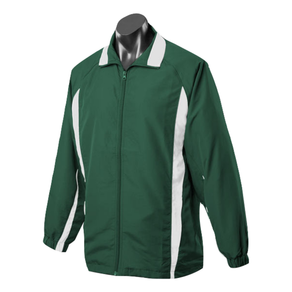 Adults Eureka Tracktop, Colours: Bottle / White