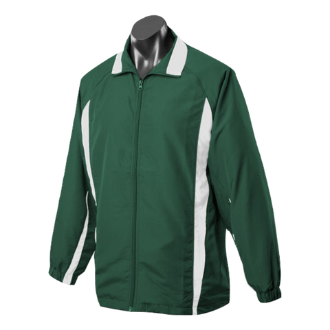 Image of Adults Eureka Tracktop, Colours: Bottle / White