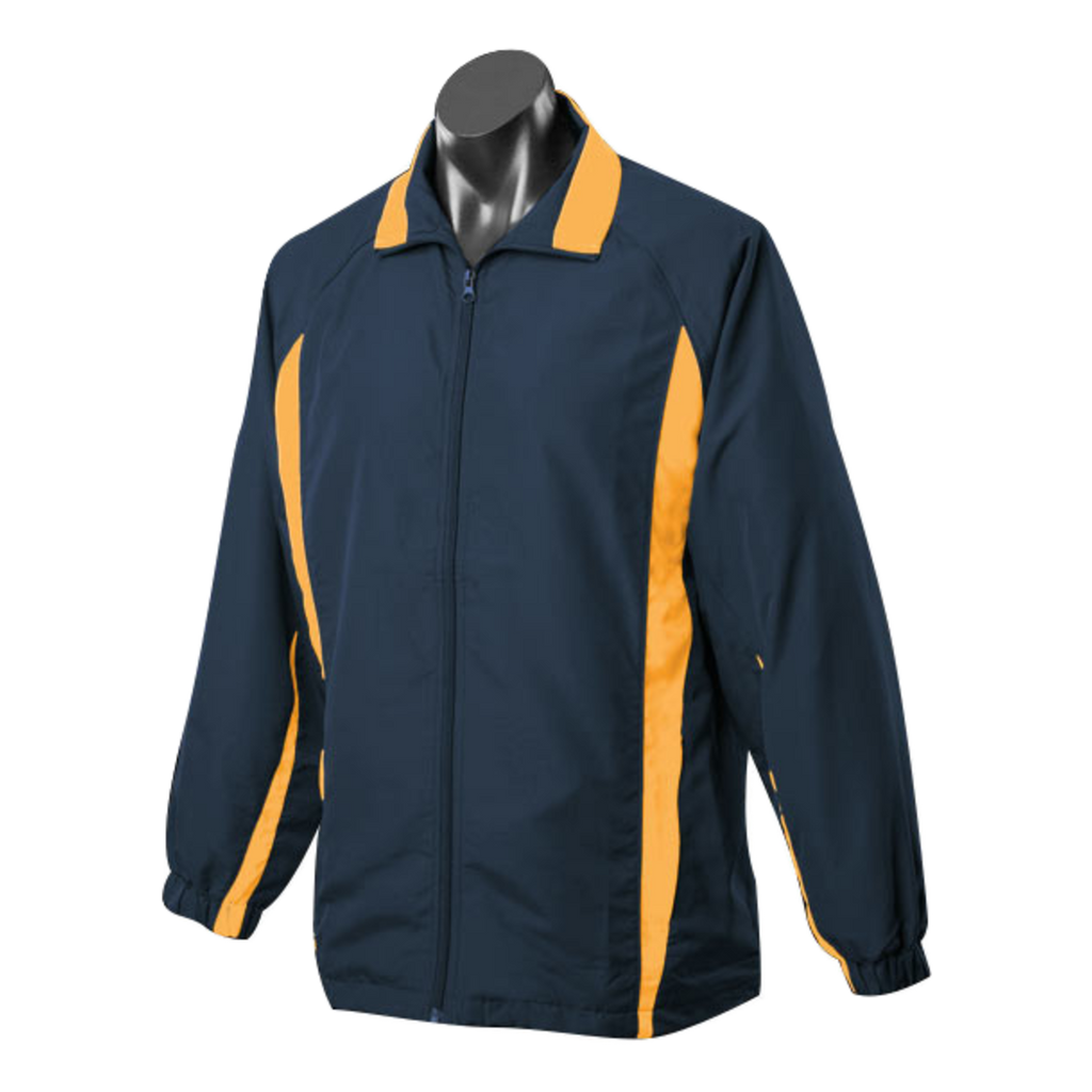 Adults Eureka Tracktop, Colours: Navy / Gold