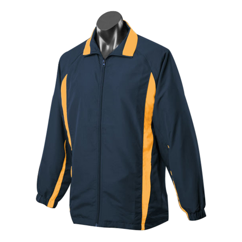 Image of Adults Eureka Tracktop, Colours: Navy / Gold