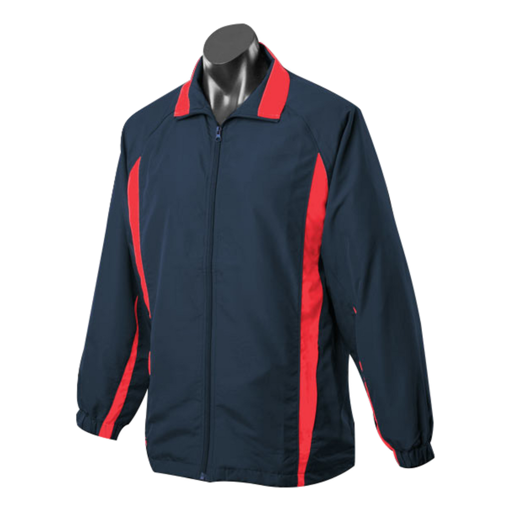 Adults Eureka Tracktop, Colours: Navy / Red