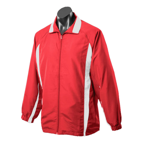 Image of Adults Eureka Tracktop, Colours: Red / White