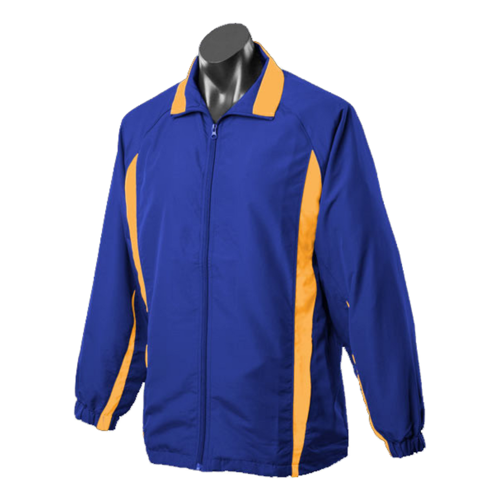 Adults Eureka Tracktop, Colours: Royal / Gold