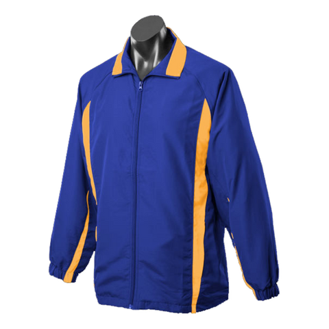 Image of Adults Eureka Tracktop, Colours: Royal / Gold