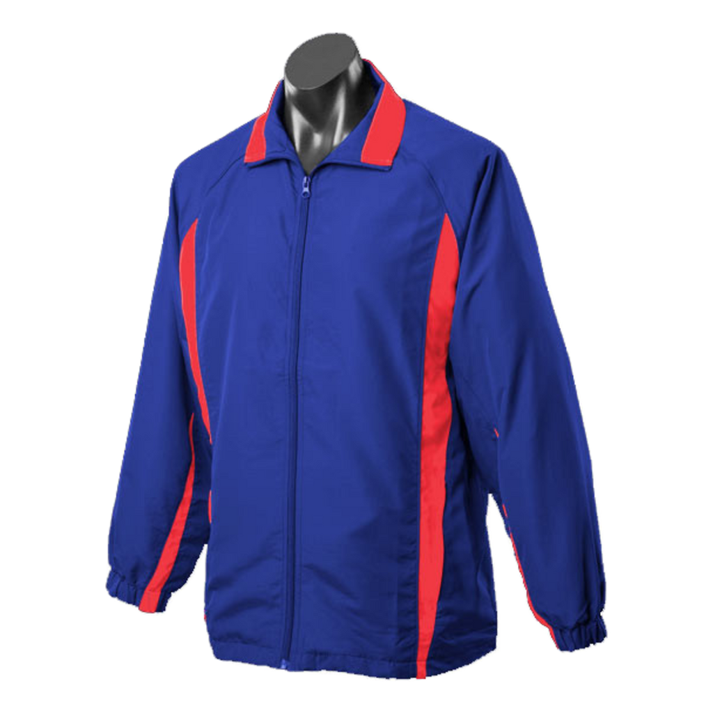 Adults Eureka Tracktop, Colours: Royal / Red