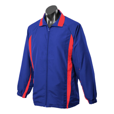 Image of Adults Eureka Tracktop, Colours: Royal / Red