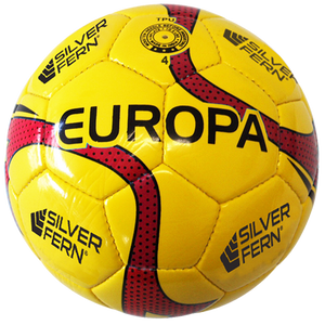 Europa - Soccer / Football - Size and Colour Size 4 (Red)
