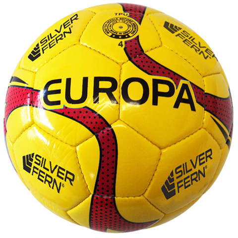 Europa - Soccer / Football, Size and Colour: Size 4 (Red)