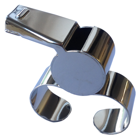 Image of Finger Grip Whistle, Type: Metal (Single*)