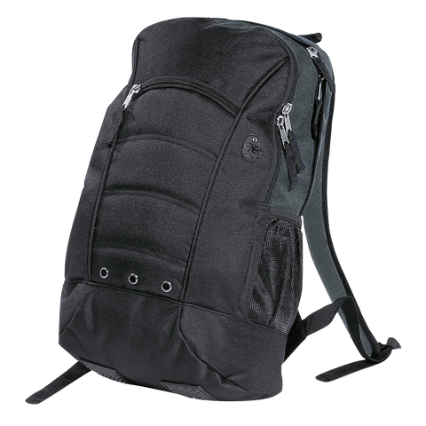 Fluid Backpack, Colours: Black / Charcoal