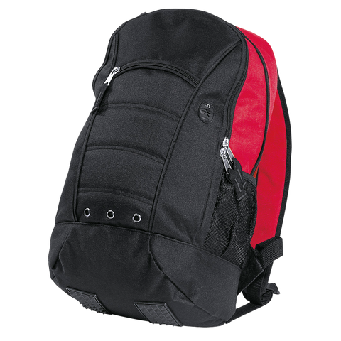 Fluid Backpack, Colours: Black / Red
