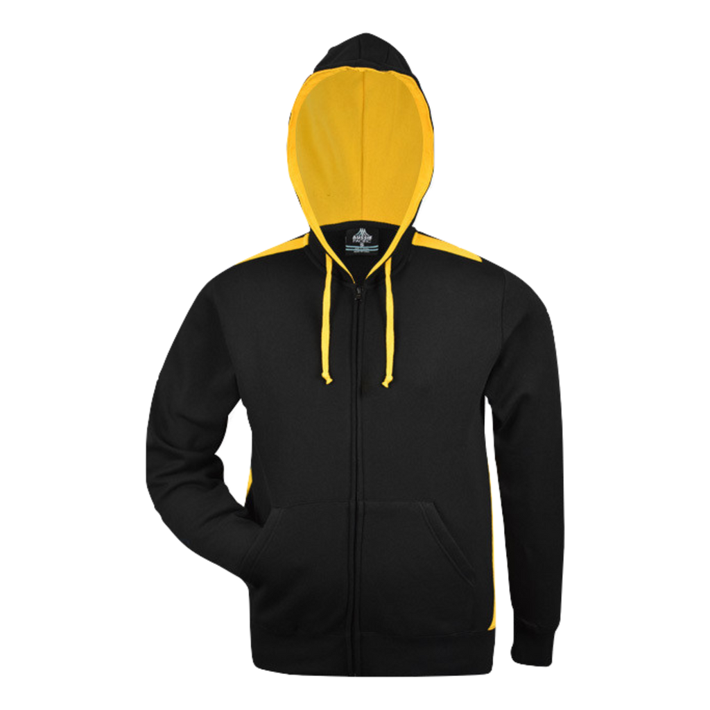 Kids Franklin Zip Hoodie - Colours Black / Gold