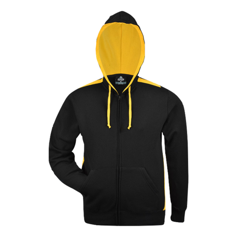 Image of Kids Franklin Zip Hoodie - Colours Black / Gold