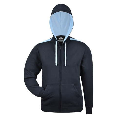 Image of Kids Franklin Zip Hoodie - Colours Navy / Sky