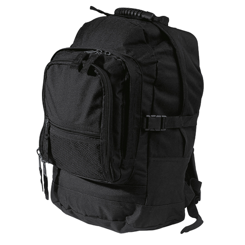 Fugitive Backpack, Colours: Black / Black