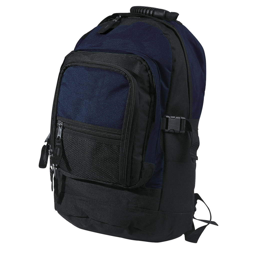 Fugitive Backpack - Colours Navy / Black