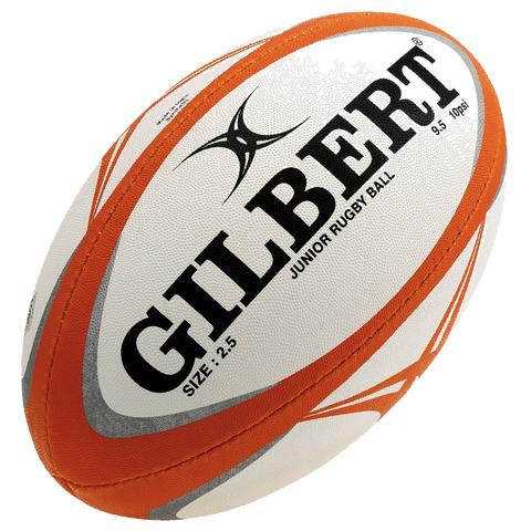 Gilbert Pathways Match Rugby Ball, Size: 2.5