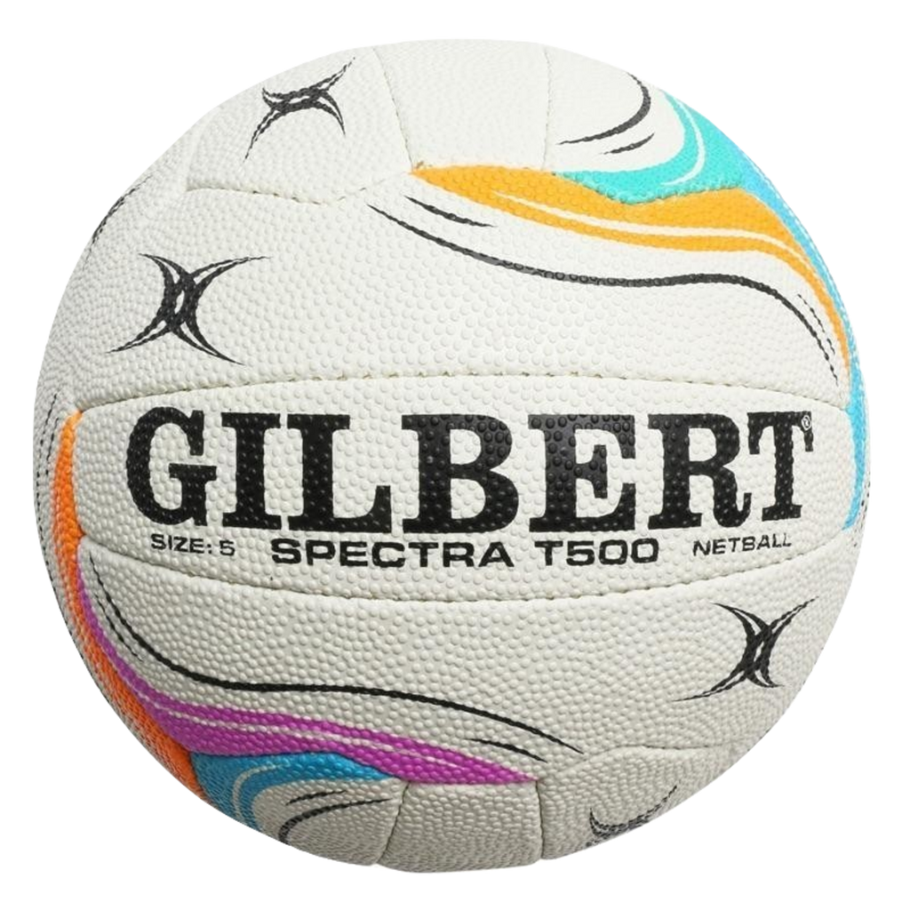 Gilbert Spectra Netball, Size: 5, Colours: White