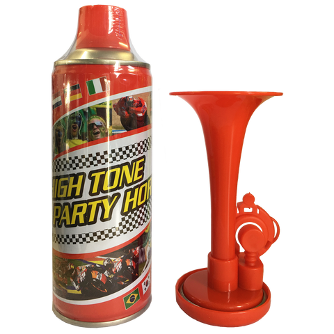 High Tone Aerosol Horn - Package High Tone Aerosol Horn