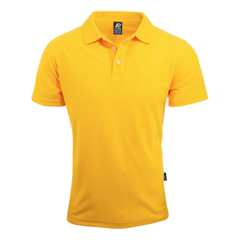 Image of Mens Hunter Polo, Colour: Gold