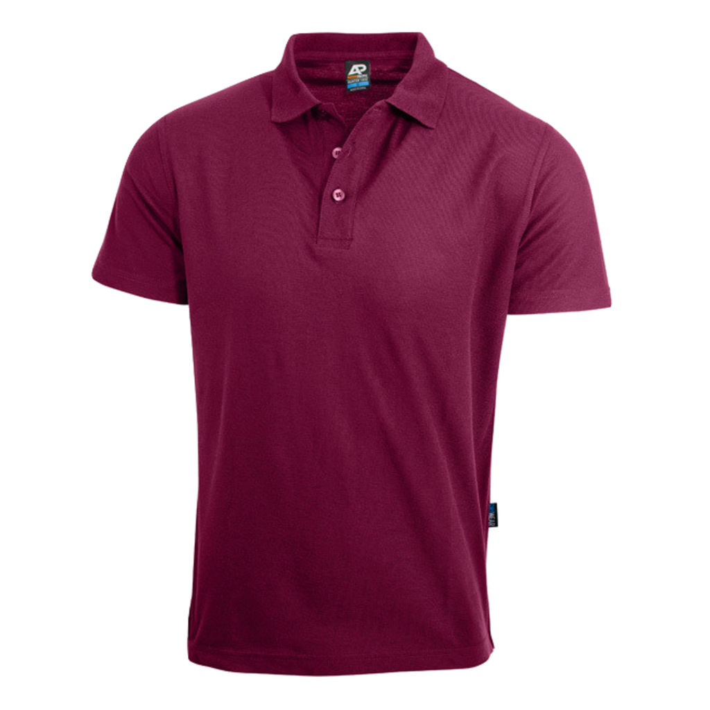 Mens Hunter Polo - Colour Maroon