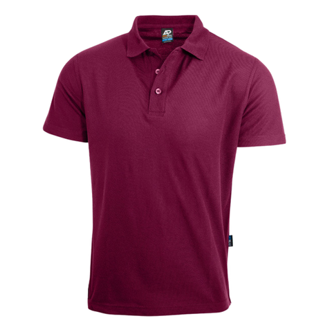 Image of Mens Hunter Polo - Colour Maroon