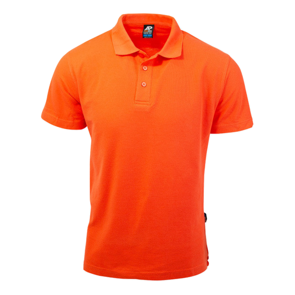Mens Hunter Polo - Colour Orange