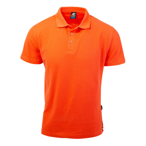 Image of Mens Hunter Polo - Colour Orange