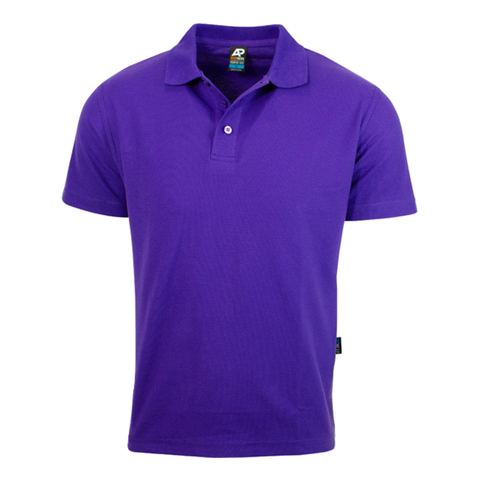 Image of Mens Hunter Polo - Colour Purple