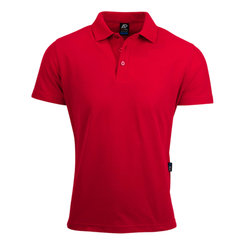 Image of Mens Hunter Polo, Colour: Red