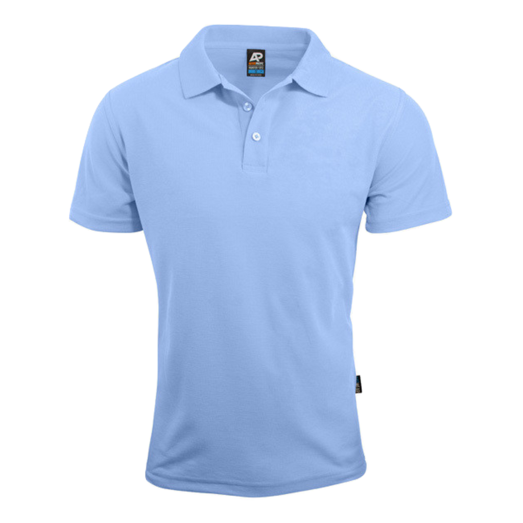 Mens Hunter Polo - Colour Sky
