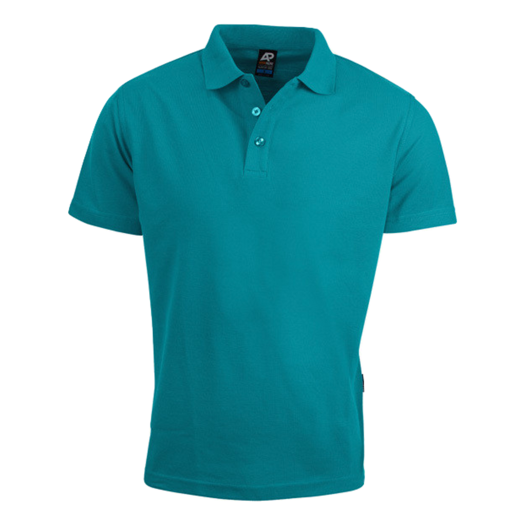 Mens Hunter Polo - Colour Teal