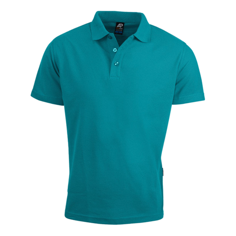 Image of Mens Hunter Polo - Colour Teal